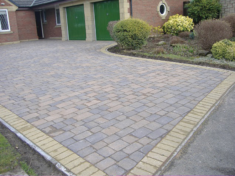 Burnt Ember Beamish Paving
