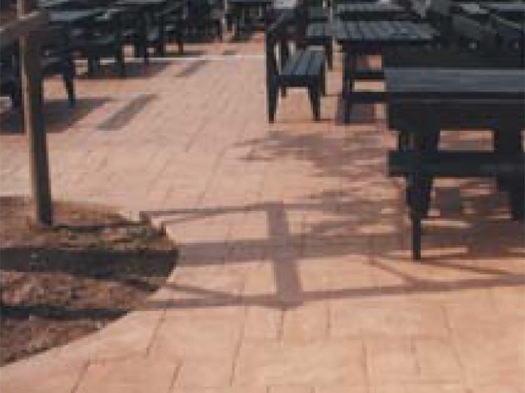 Imprinted Concrete Paving